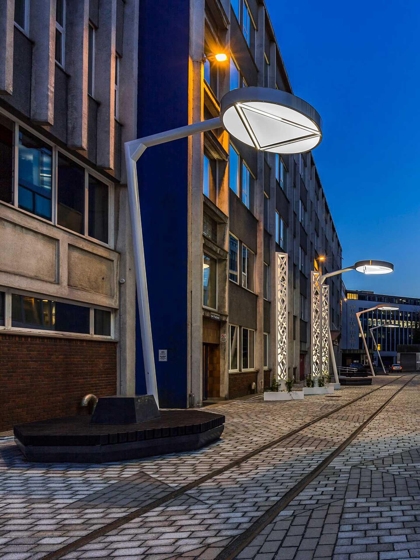Aicci Oy referenssi: Media City Bergen valomastot