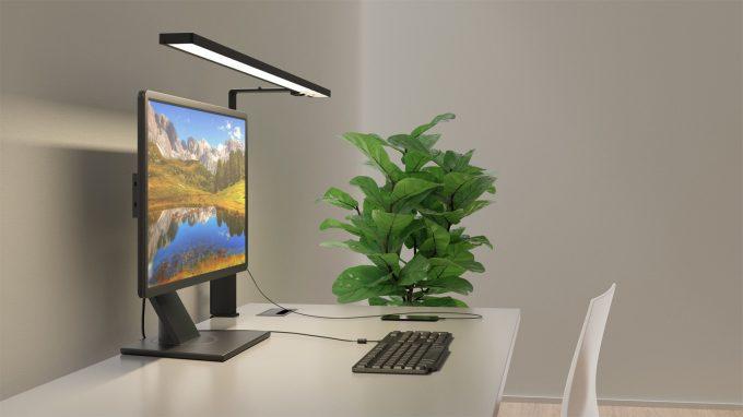 Aicci DL1 1120C and 1120D desk lamp, black