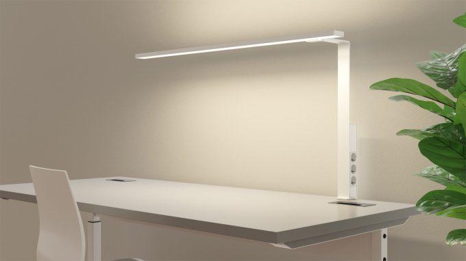 Aicci DL1 1120CS and 120DS desk lamp, white
