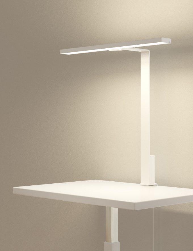 Aicci DL1 620C and 620D desk lamp, white